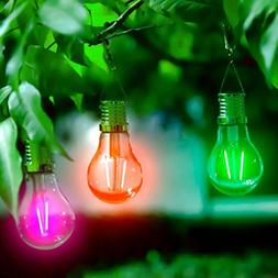 Solar LED Bulb Light Party Decor, Mikey Store Waterproof Rot