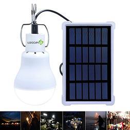 Solar Bulb Lights, PRODELI LED Lantern Tent Light Bulb for C
