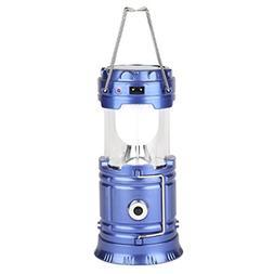 LIU RUOXI Solar Outdoor Camping Lamp Lantern Camping Flashli