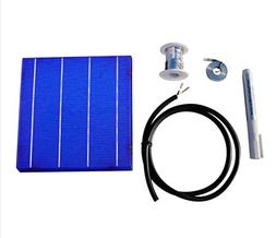 80 Pieces 6x6 in 156x156mm Solar Cell Cells + DIY Kits T-B W