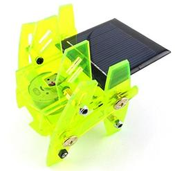 solar cell panel Robot Diy Model Scientific Experimental Toy