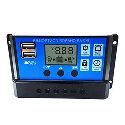 Allrise Solar Charge Controller ,Solar Panel Battery Intelli