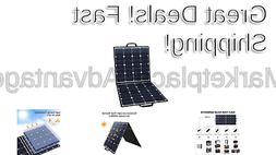 SUAOKI Solar Charger 100W Portable Solar Panel Foldable for