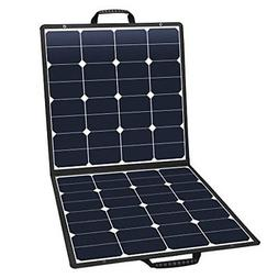 suaoki solar charger 100W solar panel folding USB DC 18V out