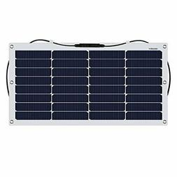 suaoki solar charger 50W active in such as a single crystal