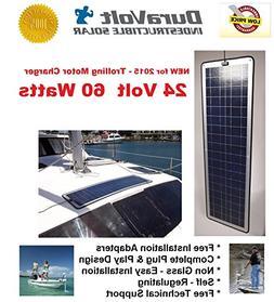 DuraVolt Trolling Motor Charger - 24 Volt solar charger - 35