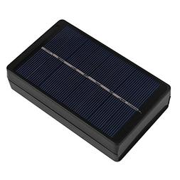Solar Charger Box, Outdoor Portable Solar Panel Battery Char