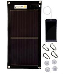 Sunsoaker Solar Charger: Flexible Solar Panel + Solar Phone