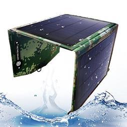 Goland Century Solar Charger Foldable 10W Solar Panel 5V USB