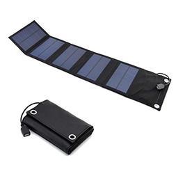 Mobestech Solar Charger Foldable Portable Panels USB Solar F