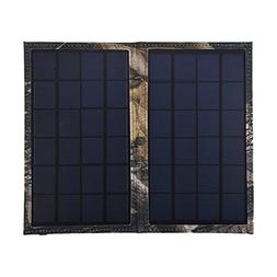 Solar Charger 6W Solar Panel with USB Port Portable Outdoor