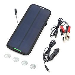 ALLPOWER 12V 18V 5W Solar Charger Solar Panel Battery Mainta