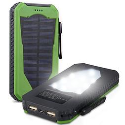 Foreverrise Solar Charger 15000mAh High Capacity Solar Panel