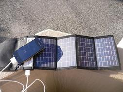 Solar Charger, Portable Solar Panel , NEW--Always be Charged