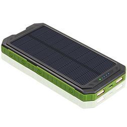Solar Charger 12000mAh ADDTOP Solar Power Bank High Efficien