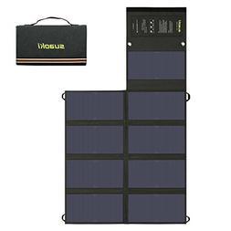 SUAOKI 60W Solar Charger  Dual Output Sunpower Mono-Crystall