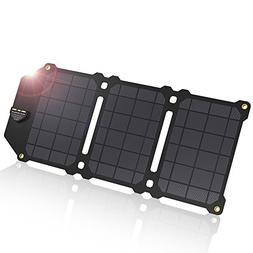 ALLPOWERS Solar Charger 21W Waterproof ETFE Solar Panel with