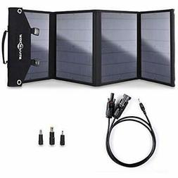 Solar Chargers 100W Foldable Panel For Suaoki Portable Gener