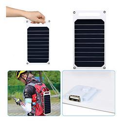 10W 5V Solar Charging Charger Panel USB for Mobile Smart Pho
