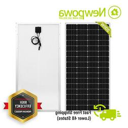 Newpowa 200 Watts Solar Panel Monocrystalline High efficienc