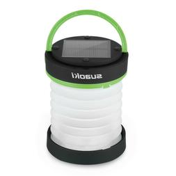 Suaoki Solar Collapsible LED Lantern Lamp Light Usb Charging