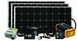 Go Power! Solar Extreme Complete Solar and Inverter System w
