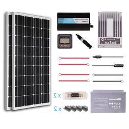 Renogy 200 Watt 12 Volt Solar Complete Kit Monocrystalline w