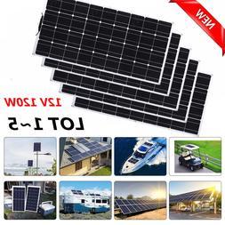 Solar Cynergy 120 Watt 12 Volt Mono Flexible Bendable Solar