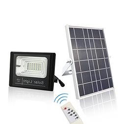 ChiChinLighting Solar Flood Light Dusk to Dawn Sensor 800 Lu