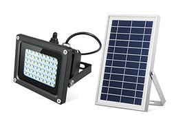 SEMILITS Solar Flood Lights 54 LED 500 Lumens 6W Solar Panel