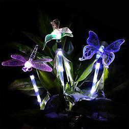 Solar Garden Lights, KUMEDA Outdoor Solar Light Multi-color