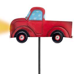 Outdoor Solar Garden Stake Lights - Vintage Truck Garden Dec