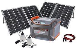 PowerSurvival NEW Solar Generator Kit With 1230-Watt Enerple