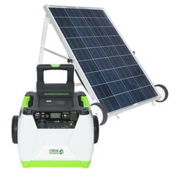 1800W Solar Generator 100W solar Panle Charging Power Supply