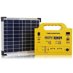 Solar Generator Portable LiFePo4 Battery - 1Inverter 110V -