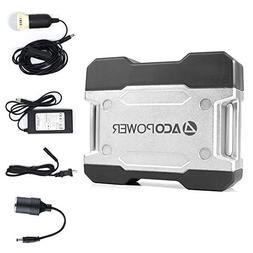 ACOPOWER Solar Generator Portable Power, Compact 111Wh Porta