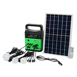 ECO-WORTHY 10-Watt Solar Generator System for Home & Camping