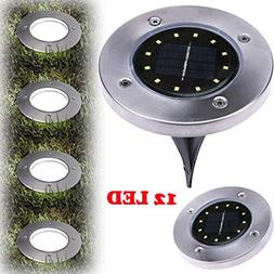 Gbell Solar Ground Lights White With 12 LED, Long-lasting to