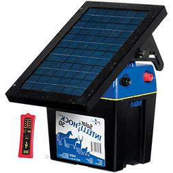 Premier Solar IntelliShock 30 Fence Energizer Kit - Includes