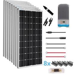 Renogy 800 Watt 12 Volt Solar Premium Kit with 60A MPPT Char