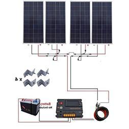 ECO-WORTHY 600W Solar kit 4pcs 150W Solar Panel with Auto Sw