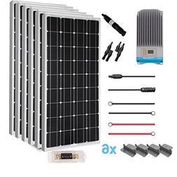 Renogy  600 Watt 12 Volt Solar Premium Kit w/ 6 Pcs 100W Sol