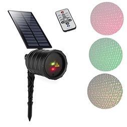 Blinblin Solar Laser Light LED Projector Laser Lights Red &