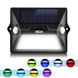 AGM Solar Light Outdoor Upgrade Solar Powered Color Led with