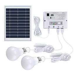 SUAOKI Solar Lighting System Portable Home Light Kit with So