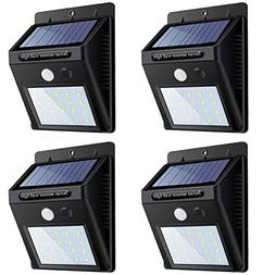 Solar Lights Outdoor, Sandm, Super Bright LED Solar Motion S