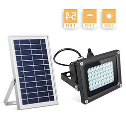 Solar Lights Outdoor, KingSo 6V 6W Higher Power Solar Panel