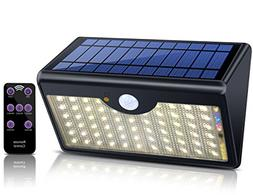 ECHTPower Solar Lights Outdoor with Remote Control 60 LED Wi
