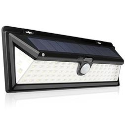 Solar Lights Outdoor, 90 LED Wall Light Waterproof with Sola