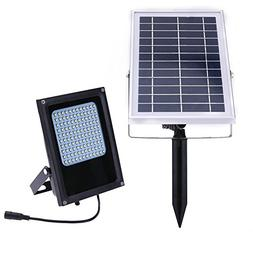 Awakingdemi Solar Lights ,Solar Powered Floodlight, 15W 120L